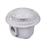 Hayward  1.5in x 1.5in Suction Outlet/Main Drain and Cover for Concrete Pools (Dual Pack)