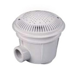 """Hayward - WG1154AVPAK2 Deluxe Suction Main Drain and Cover 2"""" Ports (Dual Pack) - 624138"""