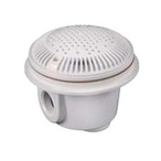Hayward - 2.0in. x 1.5in. Suction Outlet/Main Drain for Vinyl/Fiberglass Pools (Dual Pack) - 624139