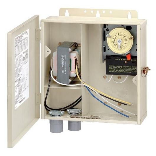 Intermatic  40 Amp Control Panel with 220V Timer and 100W Transformer