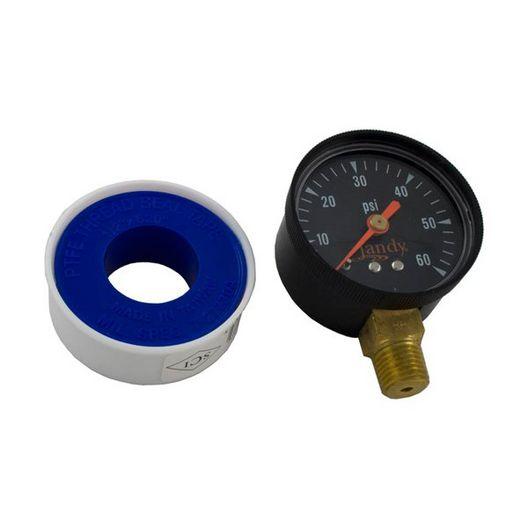 Jandy  CS-Series Cartridge Pool Filter Pressure Gauge
