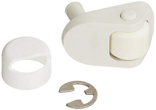 Zodiac - Ray-Vac Swivel Wheel, Gunite, White