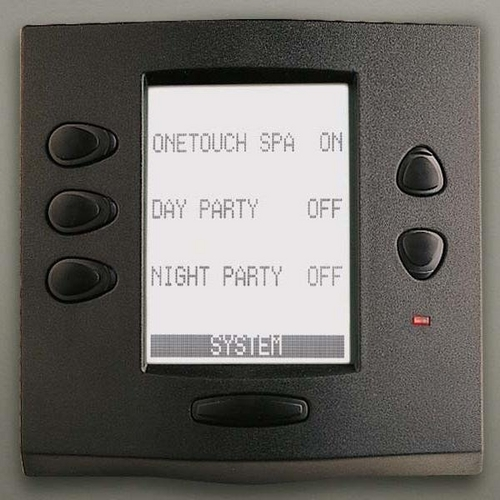 Jandy - AquaLink RS OneTouch Wired Black Control Panel