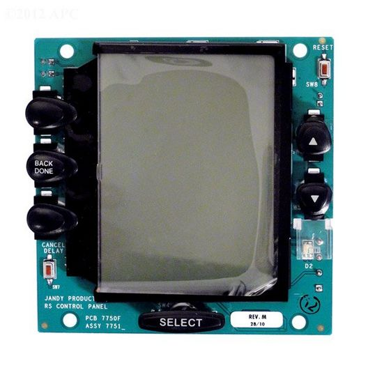 Zodiac - PC Board with Black Buttons - 624622