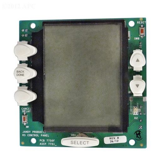 Zodiac - PC Board with White Buttons - 624623