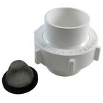 Union, 2in. x 2in. Slip with Strainer Screen