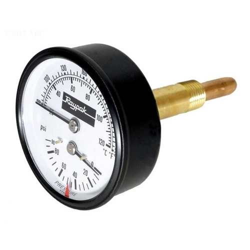 Raypak - T and P Gauge