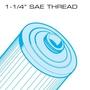 20 sq. ft. Saratoga Spas Replacement Filter Cartridge