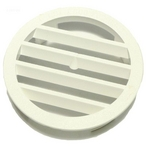 Jandy - Leaf-B-Gone Concrete Wall Fitting Grate, White - 626086