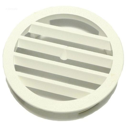 Jandy  Leaf-B-Gone Concrete Wall Fitting Grate White