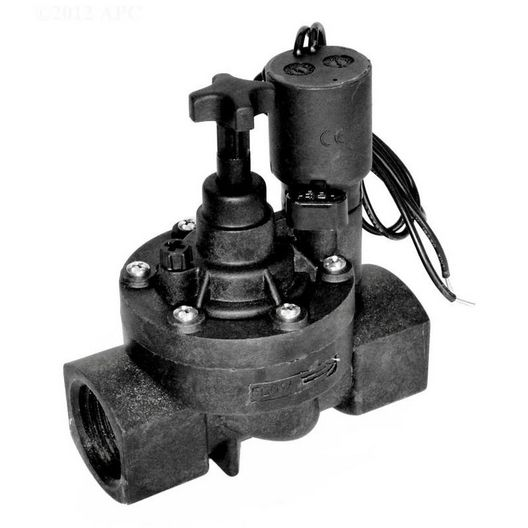 Zodiac  1in Plastic Valve 24V Solenoid with Flow Control