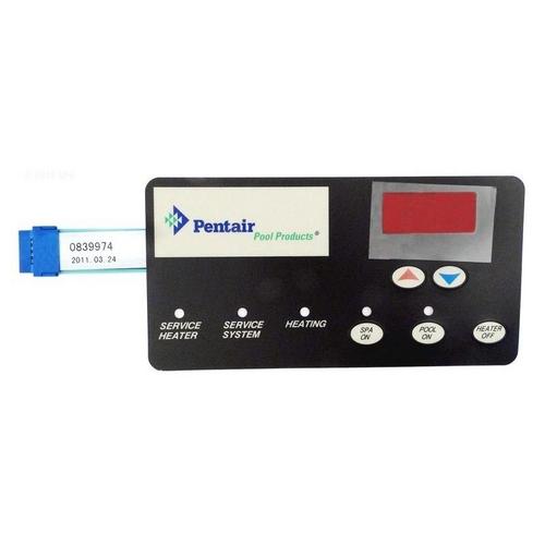 Pentair - 472610Z Membrane Pad for MasterTemp Heater