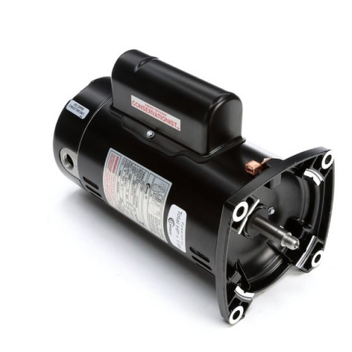 Century A.O. Smith - QC1102 Square Flange 1HP Full Rated 48Y Pump Motor, 115/208-230V