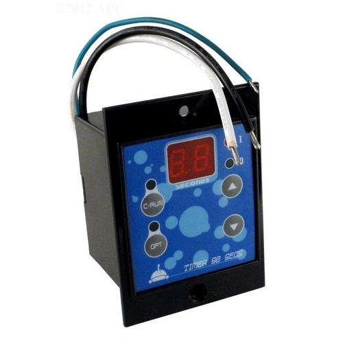 Aqua Products - Pool Cleaner Digital Timer (Front Digital Display, 90-second, 2hr Auto-Off), 1 on Power Supply
