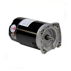 Emerson 56Y Square Flange 3-Phase 1-1/2HP Full-Rated Pool and Spa Motor