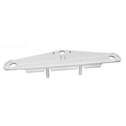Replacement Sideplate white no holes T2 2006 mo