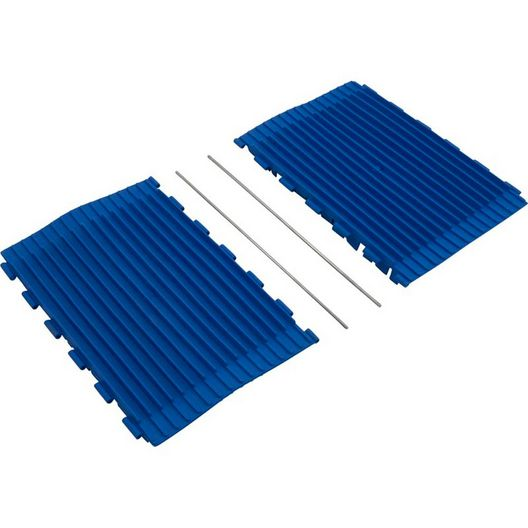 "SK Brush Rubber EZ Blue 12"" (EA/1/1  1 per machine"
