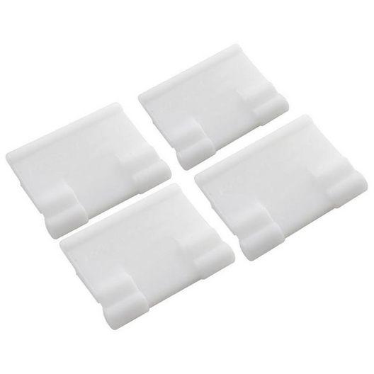 Poolvergnuegen  Bracket for Skirt Set of 4 White