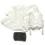280/480 Pool Cleaner All Purpose Double Zipper Super Bag, White