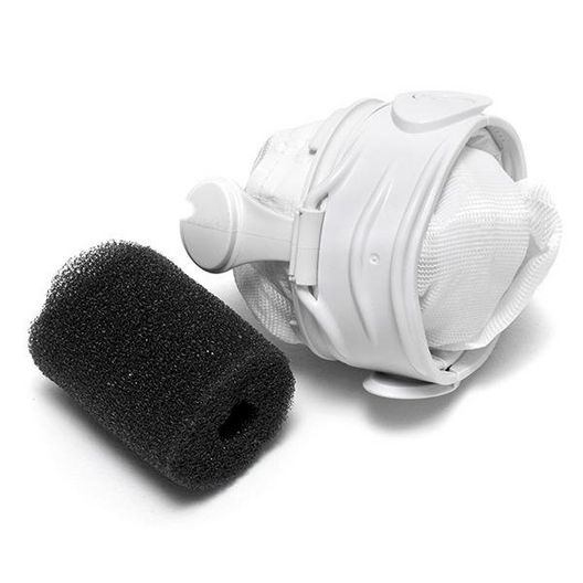 Polaris - 280/480 Pool Cleaner All Purpose Double Zipper Super Bag, White - 628513