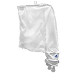 280/480 Pool Cleaner All Purpose Double Zipper Super Bag, White