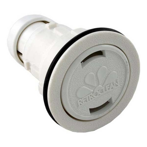 Jandy - RetroClean Replacement for QuickClean Mini Nozzle for Units with Outside Collar Fitting, Pure White