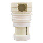 Caretaker Pop Up Threaded Replacement Cleaning Head, Cream