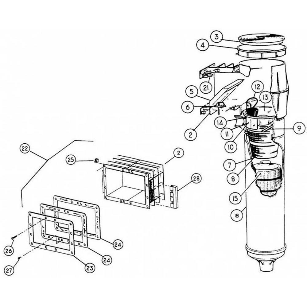 Baker Hydro Hydropak Skimmer Skimmer image