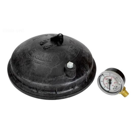 Paramount  005302430003 Replacement Complete Dome Lid with PSI Gauge Black