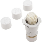 PCC 2000 Step Nozzle with Nozzle Caps, White