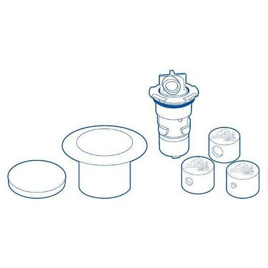 Paramount  Pool Valet Retrofit Single Head Kit Light Blue