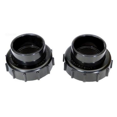 Pentair - Valve Adapter Kit, 2in. x 2-1/2in., Black