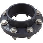 "Pentair - EQ Series 6"" Flange with Gasket and Stainless Steel Hardware - 632039"