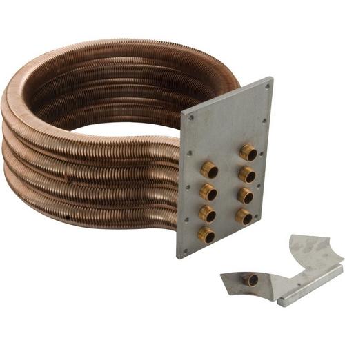 Pentair - 460747 Tube Sheet Coil Assembly Kit for MasterTemp 250