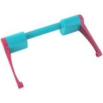 Handle Turquoise and Magenta