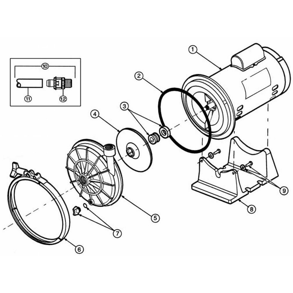 Polaris Halycon Booster Pump Pump image