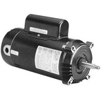 ST1302V1 C-Face 3 HP Single Speed Full Rated 56J Pool and Spa Motor, 230V