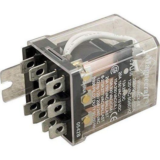 Raypak  Relay DPDT 24VAC K1  K2