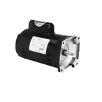 56Y Square Flange 3/4 or 0.10 HP Dual Speed Full Rated Pool and Spa Pump Motor, 12.4/2.2A 115V
