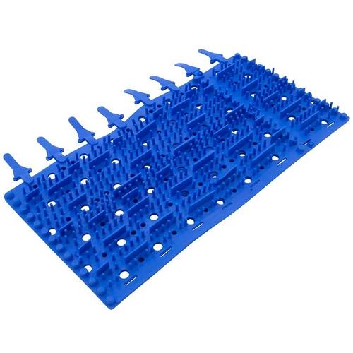 Aqua Products - Brushes Blue Molded set of 4