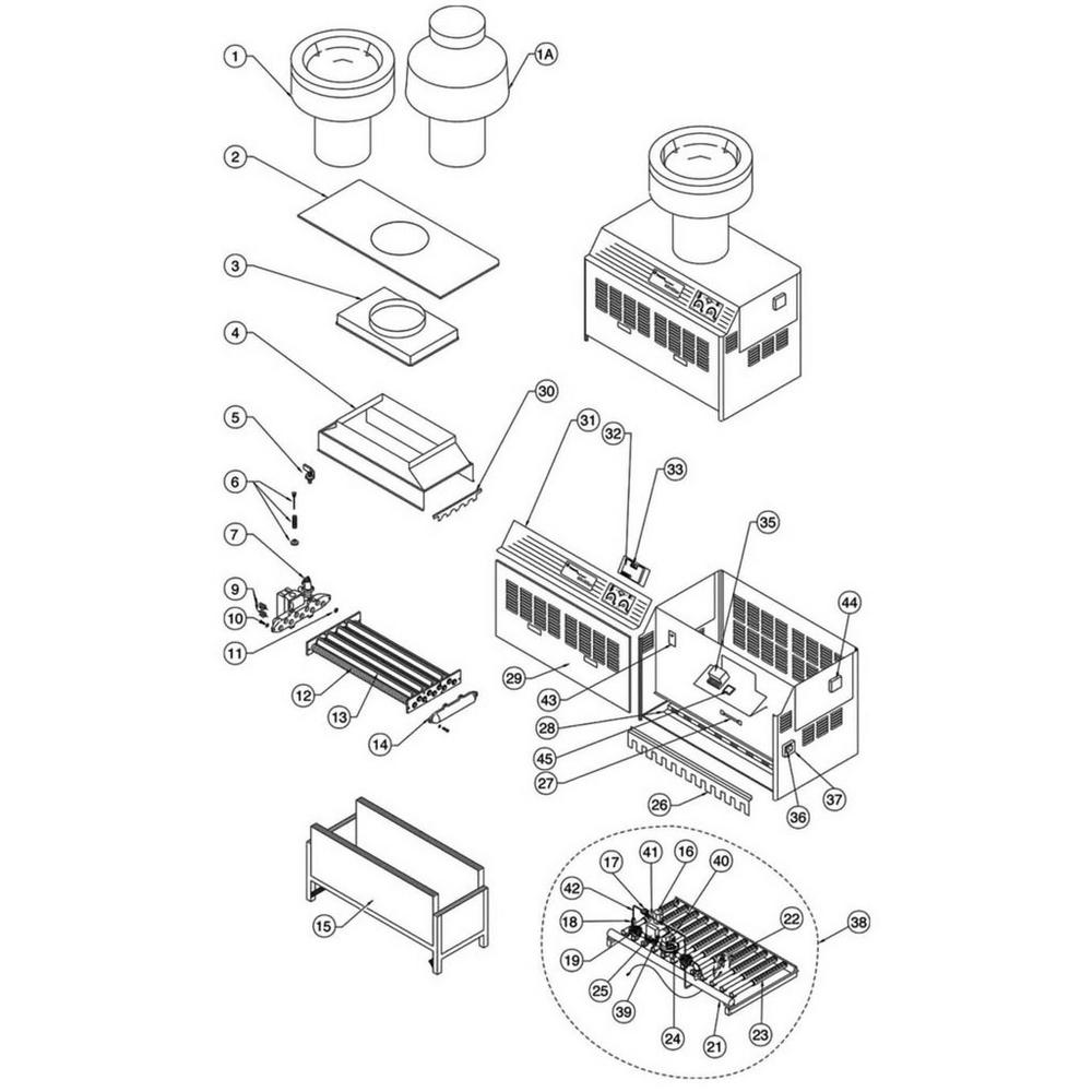 Pentair Heater MiniMax Series MiniMax w/CSD-I Controls image