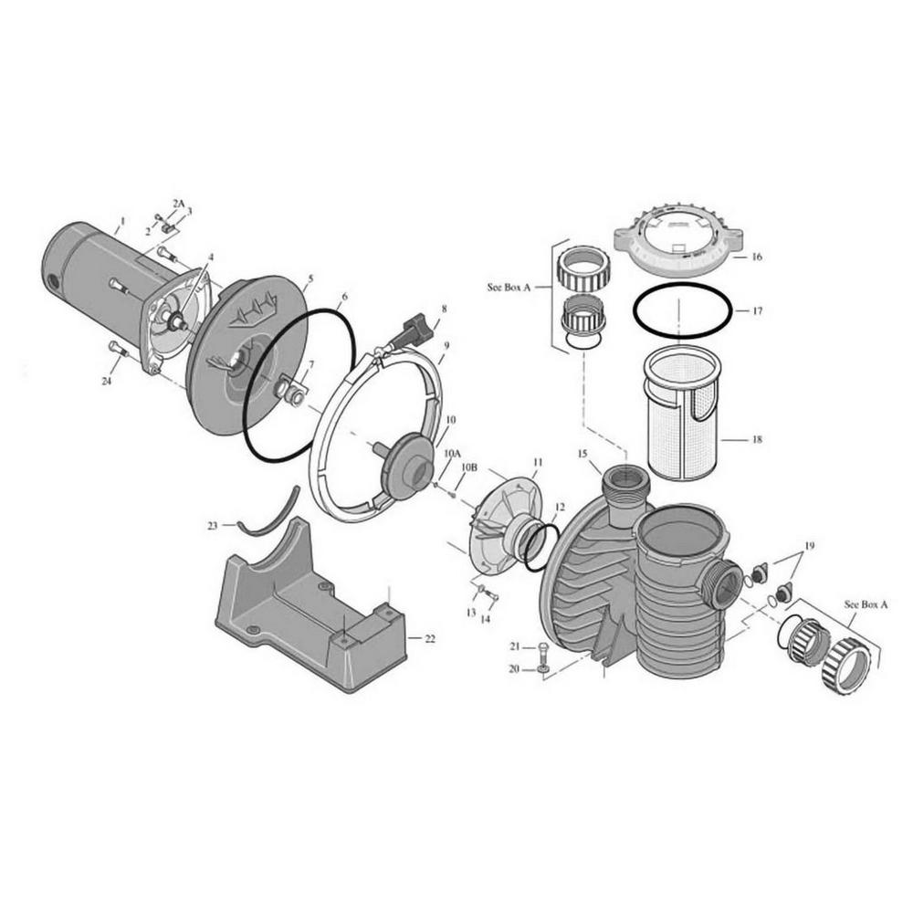 Sta-Rite Max-E-Pro Series Pump image