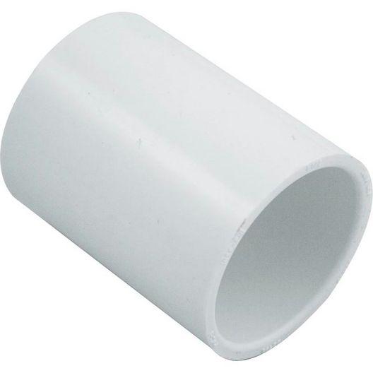 PVC Coupler, 1.5in Slip Socket Coupling, Schedule 40