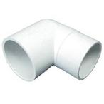 PVC 90 Degree Street Elbow, 2in Spigot X 2in Socket