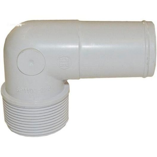 Adapter, Elbow Poly 1-1/2in.