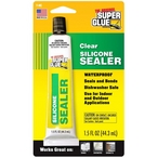 Silicone Sealer, 1.5oz Tube