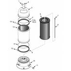 Sta-Rite Posi-Flo II PTM50, PTM70, PTM100 Filter