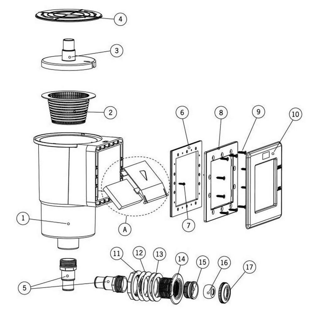 Astral Standard Skimmer: 20889 Skimmer image