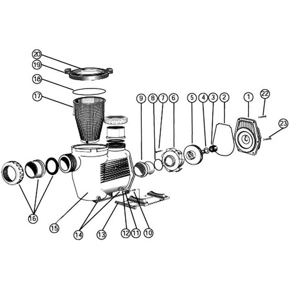 Waterco Hydrostar Pump image