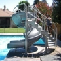 Complete Pool Slide with Ladder